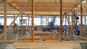 木造軸組によるマクドナルド古河店