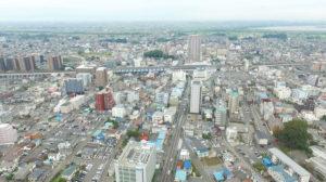 茨城県古河市ドローン空撮